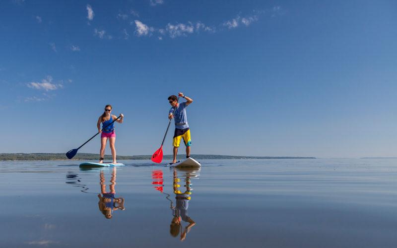 addle Boarding on Lake Superior