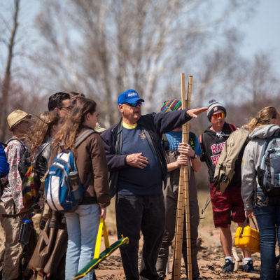 Coastal geology course gathers at Friendly Valley Beach
