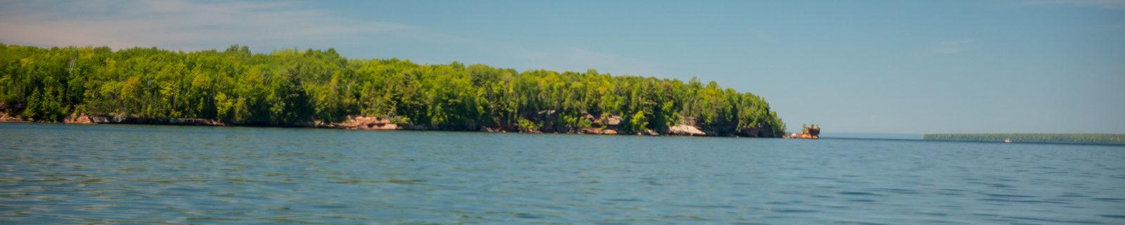 Lake Superior near Madeline Island