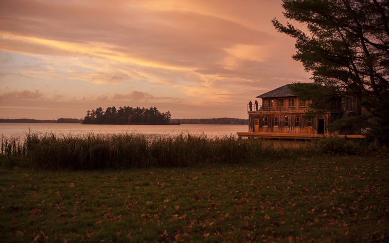 Sunset at Forest Lodge