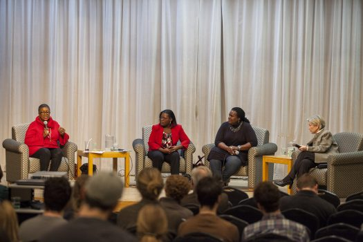 Panel discussion at Northland College