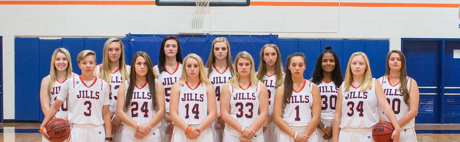 Northland College Women's basketball team 2017