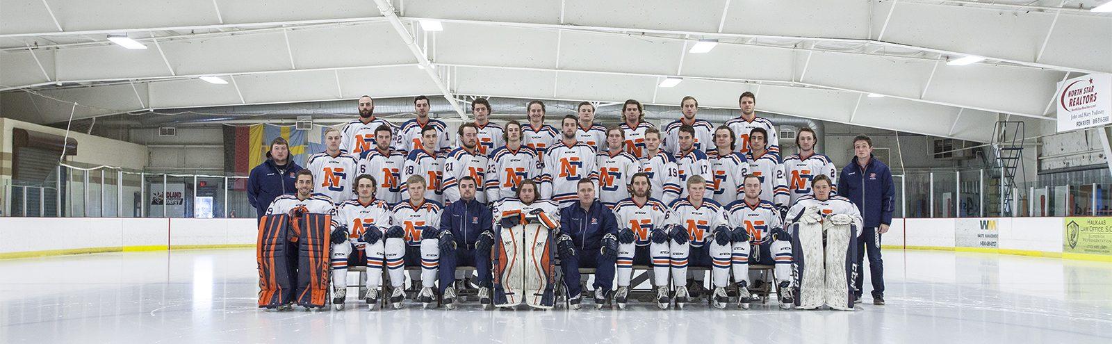 Northland College Men's Hockey Team Photo 2016-2017