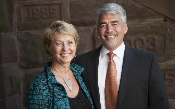 Mary Trettin and Mike Miller, Northland College