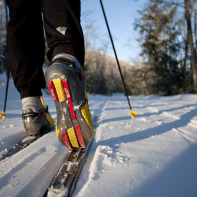 Cross country ski boot