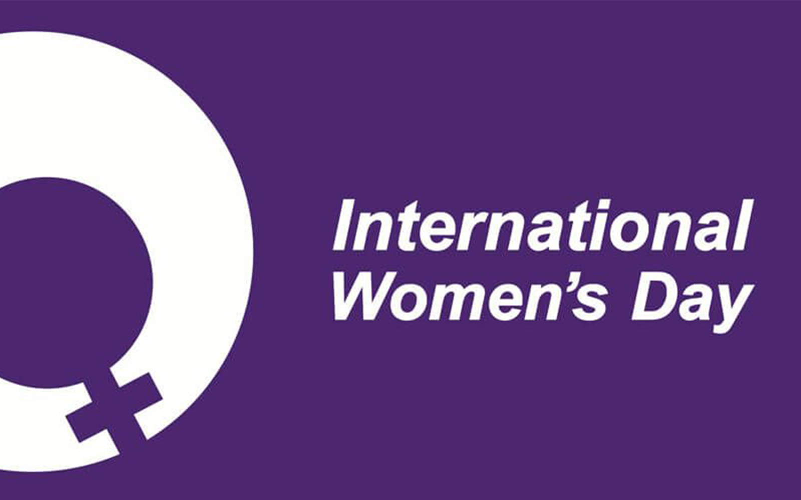 International Women's Day Banner