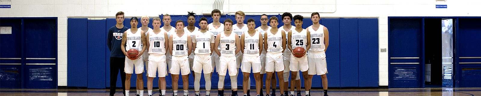 Men's Basketball Team Photo 2018