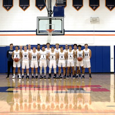 Men's Basketball Team Photo 2018