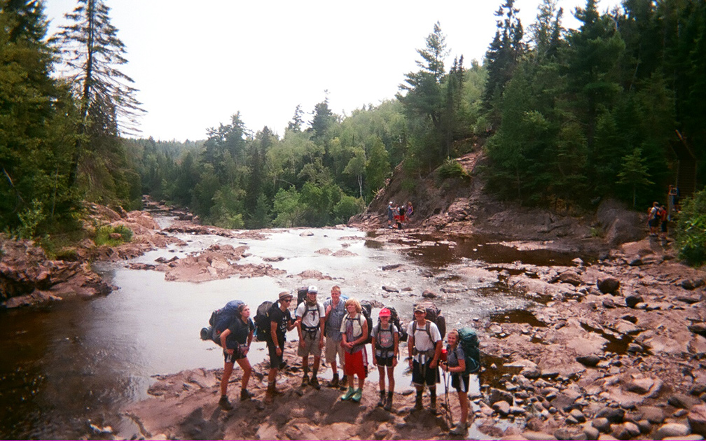 Northland Outdoor Orientation Backpacking Group