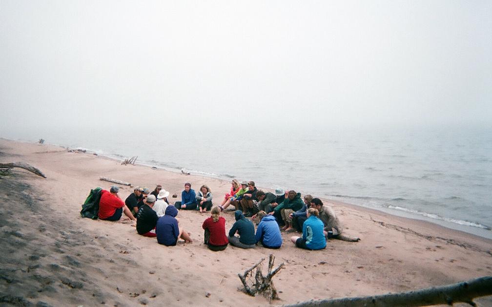 Northland Outdoor Orientation Beach Group