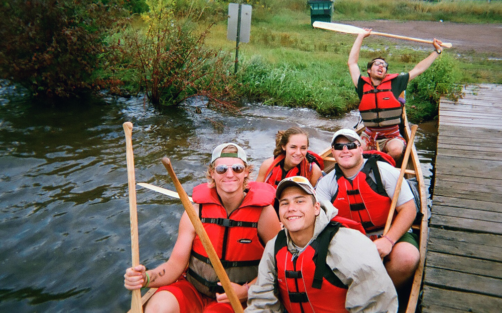 Northland Outdoor Orientation Canoe Group
