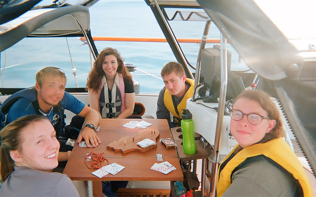 Northland Outdoor Orientation Group at Sailing