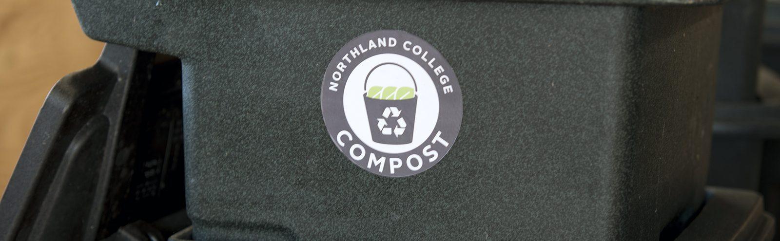 Northland College compost bins