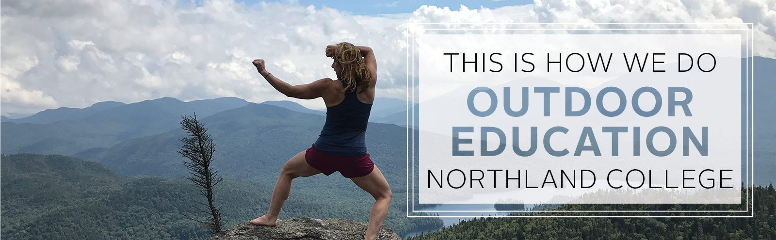 Northland College outdoor education