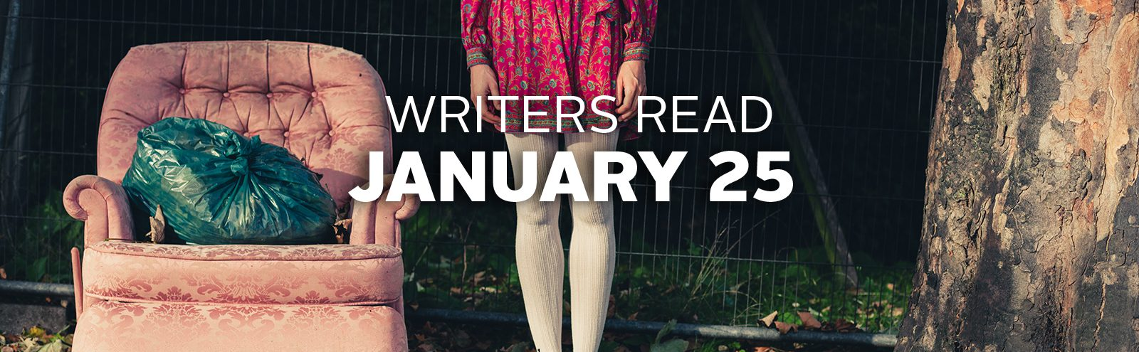 WritersRead will be held January 25, 2019