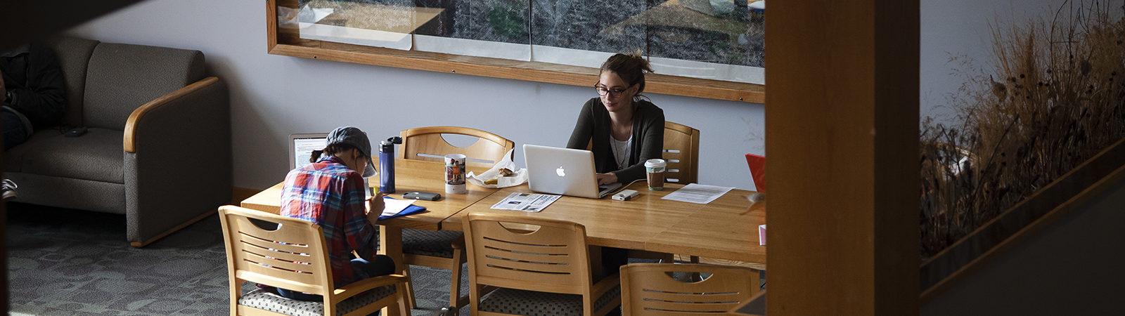 Studying at Ponzio Center Northland College