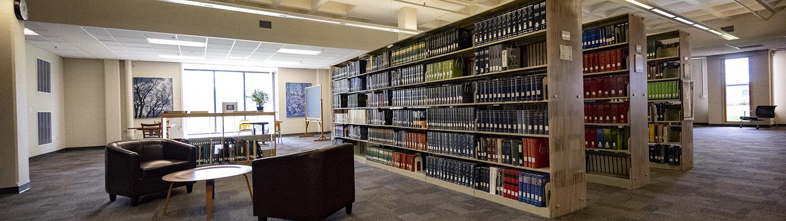 Northland College Dexter Library Interior