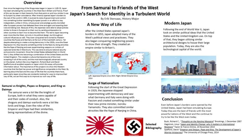 From Samurai to Friends of the West Japan's Search For Identityin a Turbulent World