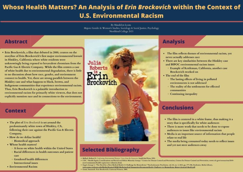 Whose Health Matters? An Analysis of Erin Brockovich within the Context of U.S. Environmental Racism